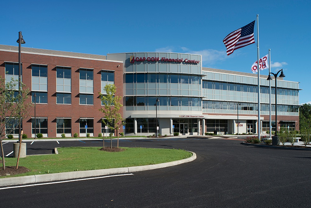 CAP COM Headquarters Commercial Landscaping Project