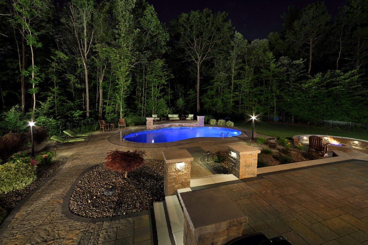 Residential Landscaping Project in Ballston Lake