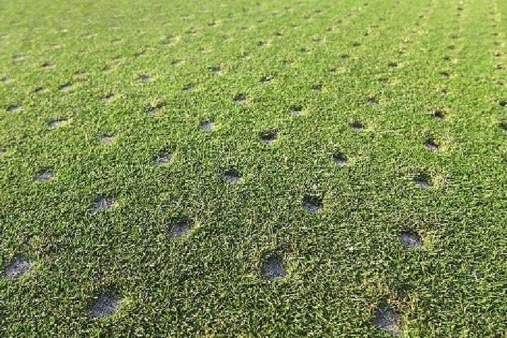 Featured Image For The Benefits of Aeration and Seeding