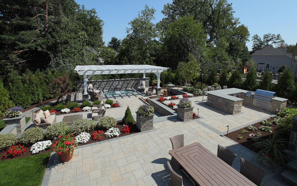 Newtonville Residential Landscaping Project