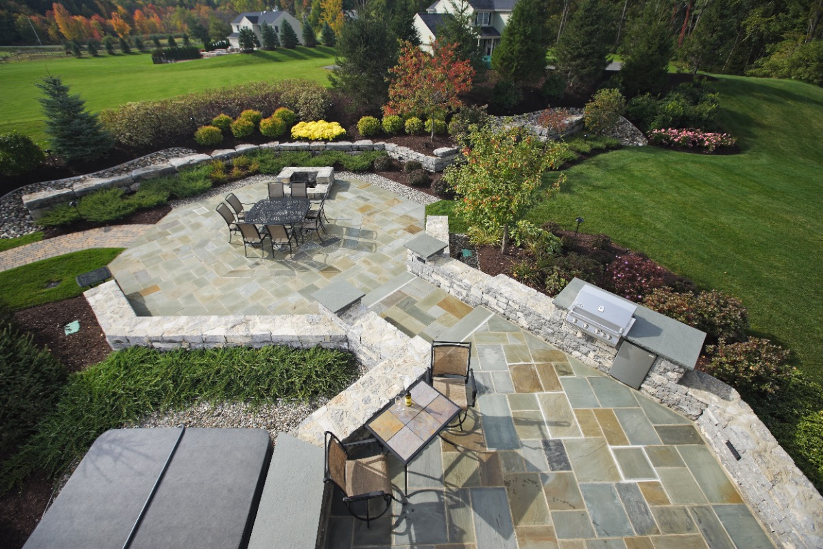 Brunswick Residential Landscaping Project